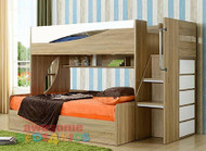 2. Ollie Bunk Bed with Gas Lift Storage