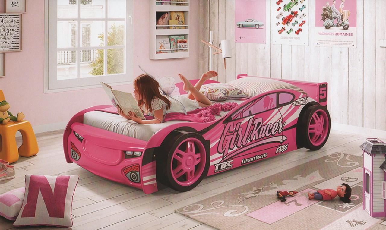 Girl Racer Car Bed