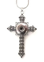 FILIGREE LARGE CROSS NECKLACE