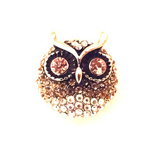 BEJEWELLED OWL SNAP JEWEL