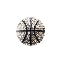 JEWELLED BASKETBALL SNAP JEWEL