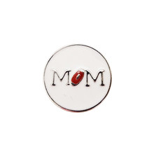FOOTBALL MOM SNAP JEWEL