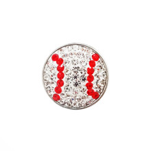 JEWELLED BASEBALL SNAP JEWEL