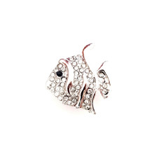 CRYSTAL DIAMOND FISH SNAP JEWEL