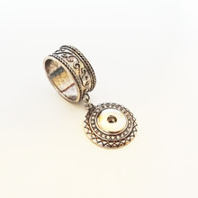 SNAP SCARF RING