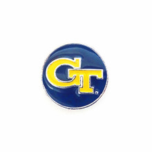 COLLEGIATE GEORGIA TECH YELLOW JACKETS SNAP JEWEL