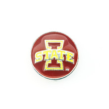 COLLEGIATE IOWA STATE CYCLONES SNAP JEWEL