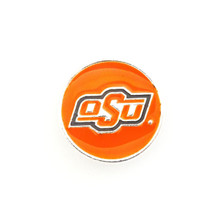 COLLEGIATE OKLAHOMA STATE COWBOYS SNAP JEWEL
