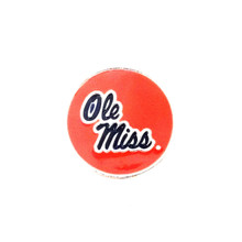 COLLEGIATE OLE MISS REBELS SNAP JEWEL