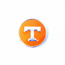 COLLEGIATE TENNESSEE VOLUNTEERS SNAP JEWEL