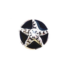 BLACK DIAMOND STARFISH SNAP JEWEL