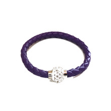 TIVOLI PURPLE LEATHERETTE BRACELET