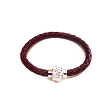 TIVOLI BROWN LEATHERETTE BRACELET