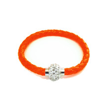 TIVOLI ORANGE LEATHERETTE BRACELET