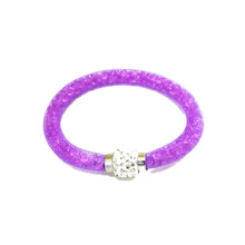 VENETIAN ICE PURPLE SINGLE BRACELET