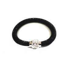 VENETIAN ICE BLACK SINGLE BRACELET