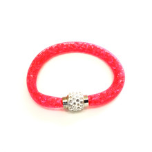 VENETIAN ICE FUCHSIA SINGLE BRACELET
