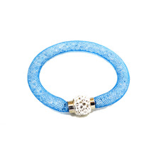 VENETIAN ICE BLUE SINGLE SNAP JEWELS