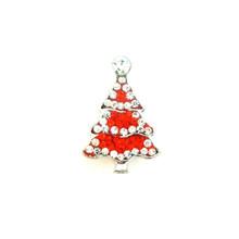 DIAMOND AND RED TIERED CHRISTMAS TREE SNAP