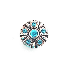 MINI AZTEC TURQUOISE STAR SNAP JEWEL
