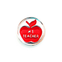 APPLE FOR THE TEACHER SNAP JEWEL