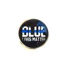 BLUE LIVES MATTER POLICE SNAP JEWEL