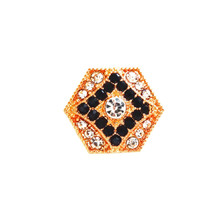 BLACK DIAMOND JACQUELYN ROSE GOLD SNAP JEWEL