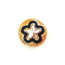 GOLD AURORA BOREALIS STAR SNAP JEWEL