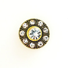 ANTIQUE DIAMOND WHEEL SNAP JEWEL