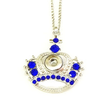 MINI SAPPHIRE CROWN NECKLACE
