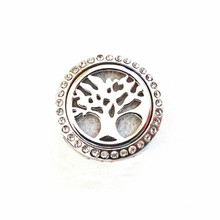 PERFUME LOCKET TREE OF LIFE SNAP JEWEL