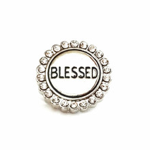 BLESSED WITH DIAMONDS SNAP JEWEL