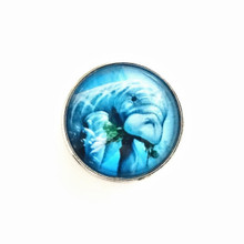 BLUE MANATEE SNAP JEWEL