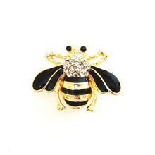 GRANDE GOLD JEWELLED BUMBLE BEE SNAP JEWEL