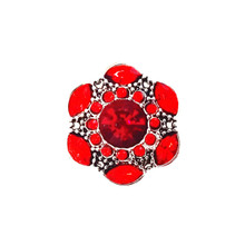 RED CARNIVALE SNAP JEWEL