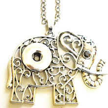 ELLIE ELEPHANT SNAP JEWEL NECKLACE