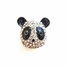 GRANDE CRYSTAL PANDA SNAP JEWEL