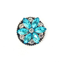 MINI AQUA FLORET SNAP JEWEL