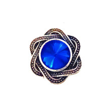 COBALT CRYSTAL INFINITY SNAP JEWEL