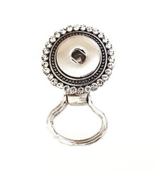JEWELLED MAGNETIC SNAP EYEGLASS HOLDER