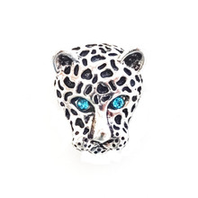 BLUE EYED JUNGLE CAT SNAP JEWEL
