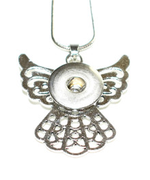 AWESOME ANGEL SNAP JEWEL NECKLACE