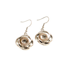 MINI INFINITY FISH HOOK EARRINGS