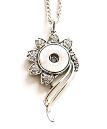 DANCING DAISY SNAP JEWEL NECKLACE