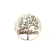 GRANDMA'S TREE OF LIFE SNAP JEWEL