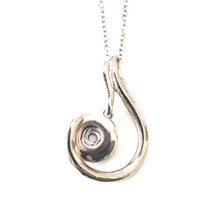 SILVER JOLENE SNAP JEWEL NECKLACE