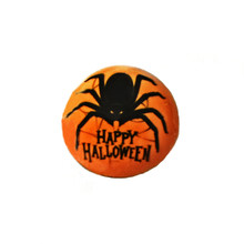 HAPPY HALLOWEEN ENAMEL SPIDER SNAP JEWEL