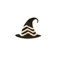 HALLOWEEN BLACK HAT SNAP JEWEL