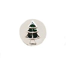 MINI 205 GREEN CHRISTMAS TREE SNAP JEWEL