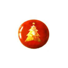 GOLD CHRISTMAS TREE SNAP JEWEL